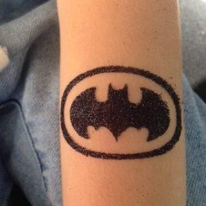 2.6.16 glitter tattoo batman